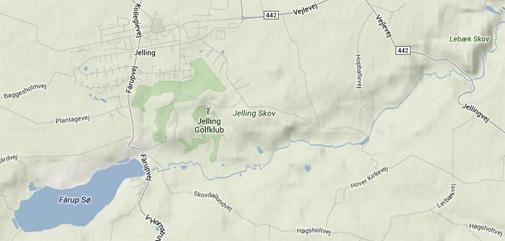 Jelling on Google Maps